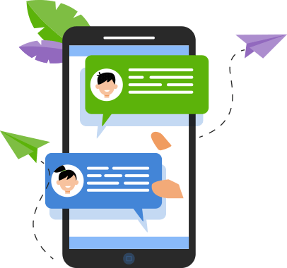 360 sms app to communicate effectively with customer