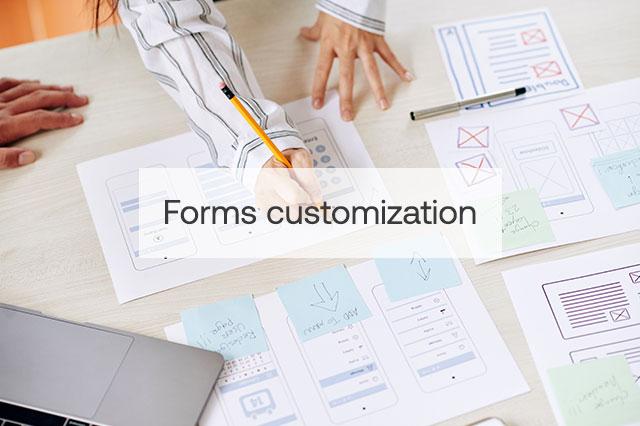 Forms customization